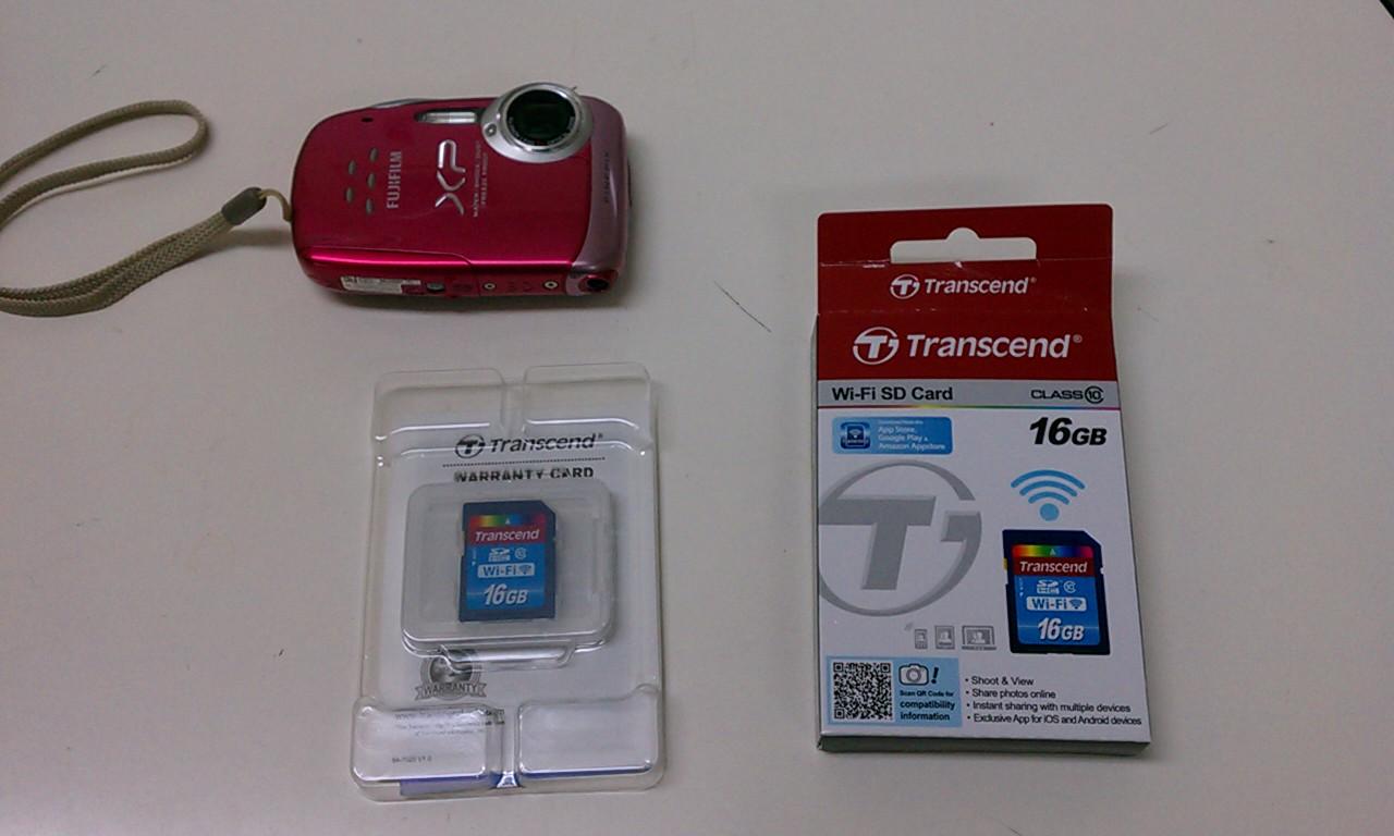 Transcend Wi-Fi SD