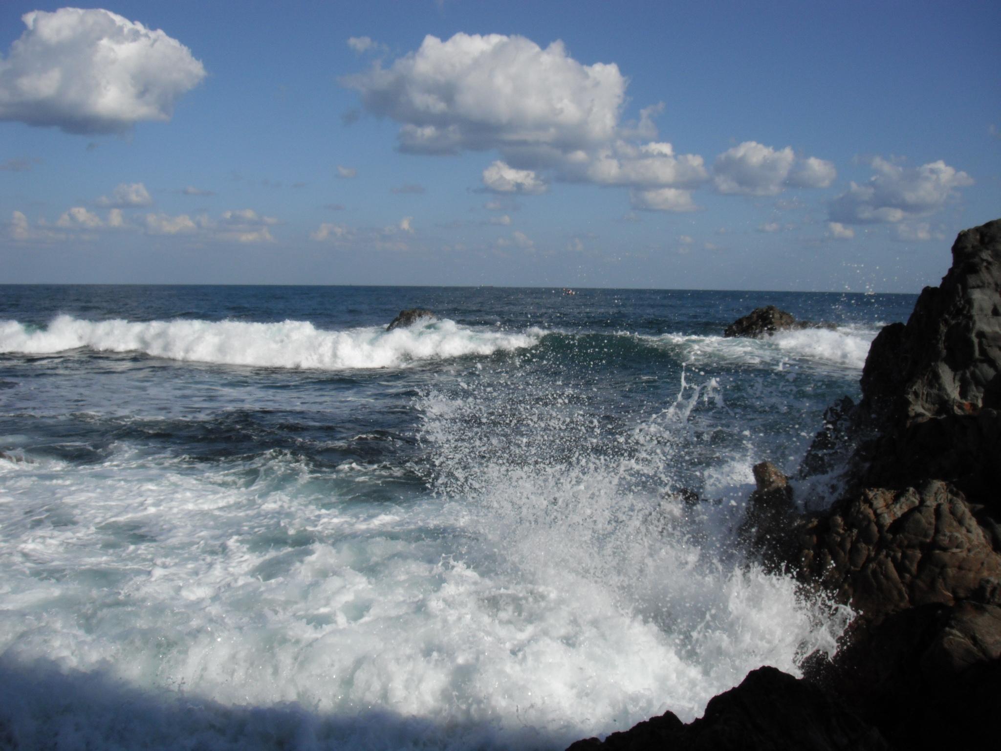 9/23の海の様子 サラシ